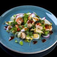 Салат с артишоками и перепелиными яйцами Фото