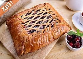 Пирог с вишней - Фото