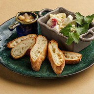 Маринованный сыр сулугуни и фета Фото