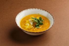 Куриный суп с яйцом пашот - Фото