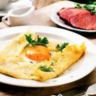 Комбо-блин Сытный завтрак Фото