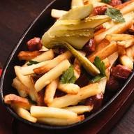 Жареный картофель бро Фото