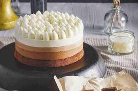 Муссовый торт 3 шоколада - Фото