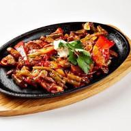 Фахитос из куриного филе (острое блюдо) Фото