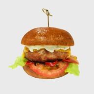 Бургер Дьявол (острый бургер) Фото