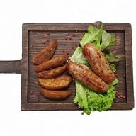 Колбаски барбекю с дольками Фото
