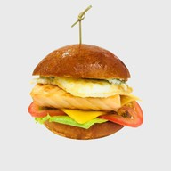 Бургер с неркой копченой Фото