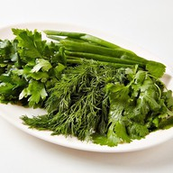 Зелёная тарелка Фото