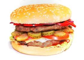 Гамбургер королевский двойная котлета - Фото