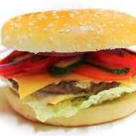 Чизбургер макси двойной сыр Фото