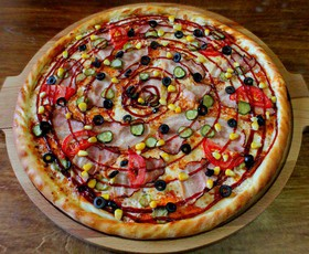 Пицца Гриль-бекон - Фото