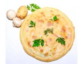 Осетинский пирог с картофелем и грибами - Фото