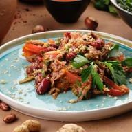 Салат с красной фасолью Фото