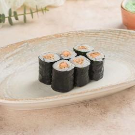 Ролл с лососем терияки - Фото