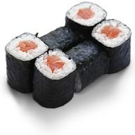 Ролл с лососем Фото