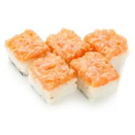 Бокс-суши спайси сяке Фото