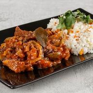 Азу из говядины с рисом с овощами (пн) Фото
