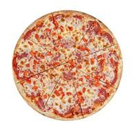 Пицца с салями хит Фото