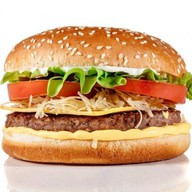 Сырный бургер Фото