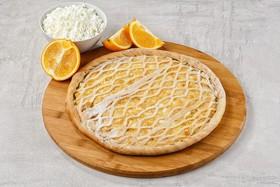 Пирог творожно-апельсиновый - Фото