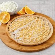 Пирог творожно-апельсиновый Фото