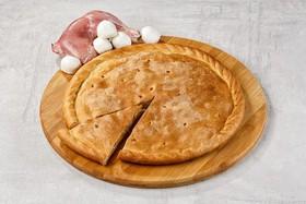 Пирог с курицей и сыром - Фото