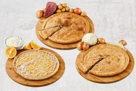Три пирога (микс) - Фото
