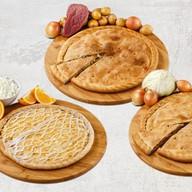 Три пирога (микс) Фото
