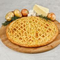 Пирог с картофелем и сыром Фото