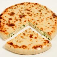 Пирог сырный с зеленым луком Фото