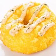 Суши-пончик с креветкой (запеченный) Фото