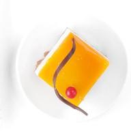 Манго-маракуйя с сырным кремом пирожное Фото