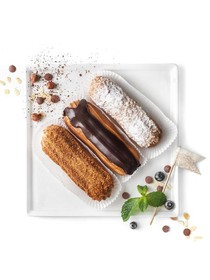 Эклер шоколадный - Фото