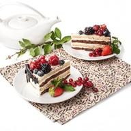 Эко с ягодами пирожное Фото