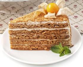 Медовик со сметанным кремом пирожное - Фото