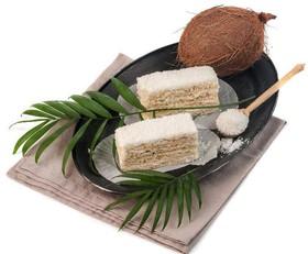 Кокосовое пирожное - Фото
