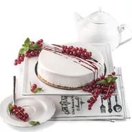 Творожно-йогуртовый торт Фото