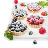Флан с голубикой пирожное Фото