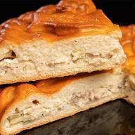 Пирог с муксуном на дрожжевом тесте Фото