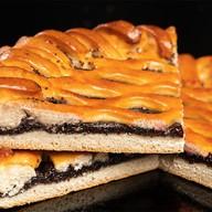 Пирог с маком на дрожжевом тесте Фото