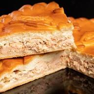 Пирог с горбушей на дрожжевом тесте Фото