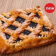 Пирог творожно-черничный Фото