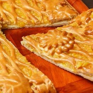 Пирог цитрусовый Фото