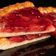 Пирог ягодный на дрожжевом тесте Фото