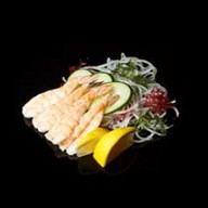 Сашими эби с креветками Фото