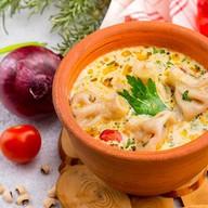 Суп с хинкали Фото