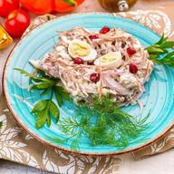 Гнездо перепелки салат Фото