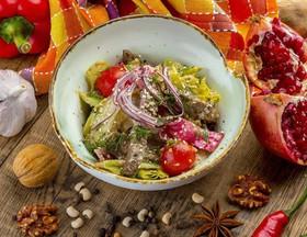 Салат с печенью индейки - Фото