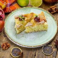 Домашний творожный пирог Фото