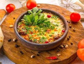 Аджапсандал горячий с сыром на кеци - Фото